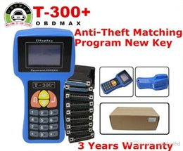 Wholesale Transponder Code Tools - T300 key programmer T 300 T-CODE key transponder key auto diagnostic tool For Multi-Brands T-CODE T-300 With English Spanish