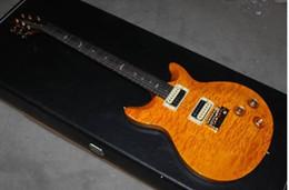 Wholesale Electric Santana - New Arrival SANTANA Model electric Guitar yellow