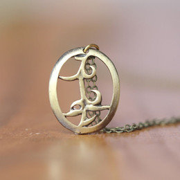 Wholesale City Brass - the mortal instruments city of bones Parabatai Rune pendant necklace the infernal devices , shadowhunter, Friendship jewelry C82N