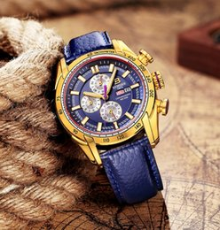 Wholesale Binger Men Watch - asculinos relogios Hot Brand Watch 2017 New Waterproof Sports Military Watches Quartz Chronograph Wristwatch BINGER Men Watches relogio m...