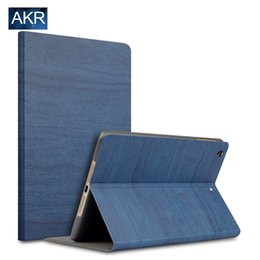 Wholesale Smart Buy Wholesale - Wholesale-Buy One Get One Screen Flim for iPad mini 4 case smart cover for iPad mini 2 3 PU Wood Grain Leather free shipping