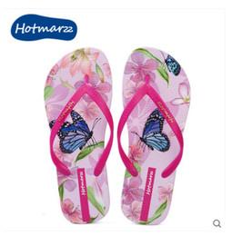 Wholesale Ma B - Wholesale New Arrival Black ma summer 3D flower design women's flip-flops flat sandals beach vocation slipper