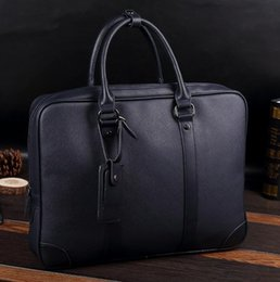 Wholesale Business Bag Men Briefcase - Original brand package are multifunctional man portable computer bag simple bulk leather briefcase business trend all-match leisure bag