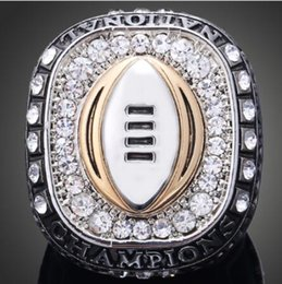 Wholesale Football Products - Wholesale Souvenir Products NCAA 2015 Ohio State Buckeyes American Football Replica Super Bowl Rings for Men J02077