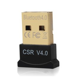 Wholesale Vista Adapter - Mini USB Bluetooth CSR 4.0 Dual Mode Adapter Dongle for Windows 10 8 7 Vista XP 32 64 Bit Raspberry Pi Linux Black