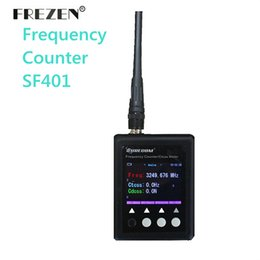 Wholesale frequency tester - Wholesale- NEW Version Portable Frequency Counter SF401 Plus 27Mhz -3Ghz CTCSS CDCSS TESTER
