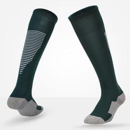 Calcetines largos lisos online-Calcetines de fútbol Niños Niños Comodidad Deporte Fútbol Fútbol Por encima de la rodilla Niños Chicas Alta rodilla Calcetines deportivos Calcetines largos y lisos