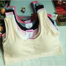 Wholesale Wholesale Kids Bra - White Bras for Kids Cotton Training Bra for Girls Teens Underwear for Teenagers Girls Lingerie Teenage Girl Underwear Sport