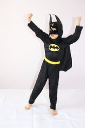 Wholesale Costumes Play Performance - 4-7 years Kids Comic Marvel batman Muscle Halloween Costume,boy roll play clothing&free shipping