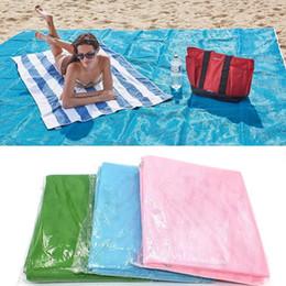 Wholesale Pe Net - Sand Free Beach Mat Mattress Sandless net Blanket Camping Outdoor Picnic Mattress Beach Mats Pads 200*150cm 120*150cm 200*200cm