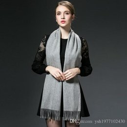 Wholesale Grid Wool - 2017 winter splaid carf cashmere scarf of men's and women's lover gift grid stripe please contact