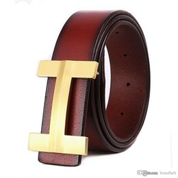 Wholesale Golden Jeans - 2017 Luxury Brand famous Designer Belts Men High Quality Male genuine leather Business Casual belt men ermes Buckle Strap for Jeans ceint