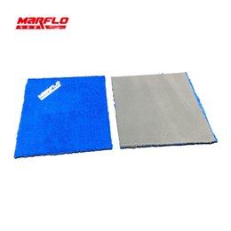 Wholesale Painting Car Windows - Wholesale- Window Cleaner Magic Clay Cloth Towel Microfiber Car Wash Detailing Clay Bar Pad Auto Care Paint MARFLO by Brilliatech