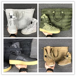 Wholesale Field C - Wholesale NEW Special field one Airs 1 Faded Olive Gum Light Brown Beige Linen high Boots Men Women Running Shoes sports size 36-45
