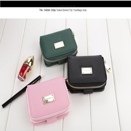 Wholesale korean dress fashion black color - Women Wallet Candy Color Leather Zipper Small Fresh Short Wallet Card Holder Clutch Girl Fashion Purse Monederos Para Mujer
