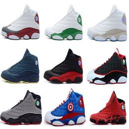 Wholesale Pink Rose Canvas - Drop shipping 2018 Wholesale Cheap NEW Top Quality 13 13s mens basketball shoes sneakers running shoes For men US8-13