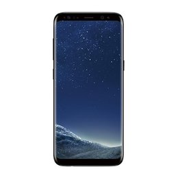 Wholesale Gravity Blue - 6.2inch Full Screen goophone S8 S8 plus clone phone MTK6592 Octa core 4G RAM 64G ROM Fingerprint shown 4G LTE android 7.0 smartphone