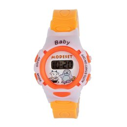 Wholesale Wholesale Boy Watches - Wholesale- New Desigh 2016 hot sale Colorful Boys Girls Students Time Electronic Digital Wrist Sport Watch Sep20 supper fun