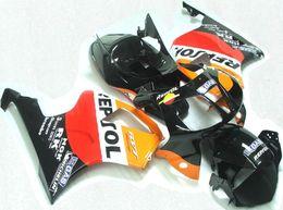 Wholesale Rc51 Fairings - New Fairings For Honda VTR1000 RC51 SP1 SP2 00 01 02 03 04 05 06 ABS Plastic Motorcycle Fairing Bodywork Cowlings Body red orange repsol