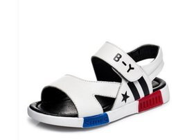 Wholesale Boys Fashion Dress Shoes - 2017 new boy sandals beach shoes