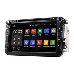 Wholesale Din Seat - 8 Inch Android 5.1 Car DVD GPS Multimedia Player With Wifi DAB CanBus for VW Golf 5 6 Polo V 6R SEAT