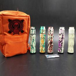 e cigarette kits dhl Promotion Date Comply AV Kit Luminous Cigarette AV Mech Mod Effets Lumineux Avid Lyfe Mécanique Mod et Battle RDA DHL Gratuit