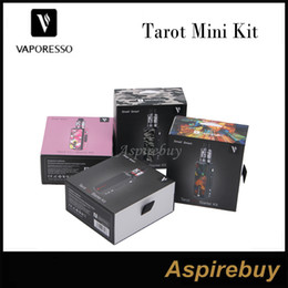 Wholesale Integrated Board - Vaporesso Tarot Mini Kit 80W Tarot Mini Mod with 2ML Veco Tank integrating the premiere OMNI Board Powered by Single 18650 Battery Original