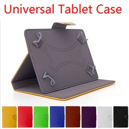"Wholesale Leather Case Universal Inch - 7 8 9 10 Inch 7"" 8"" 9"" 10"" Universal Tablet PC PU Leather Case Cover With Stand"