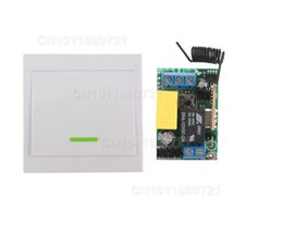 Wholesale Remote Ac Wall Switch - Wireless Remote Control Switch AC 220V Receiver Wall Panel Remote Transmitter Hall Bedroom Ceiling Lights Wall Lamps Wireless TX