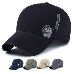 Wholesale Sports Cap Low Price - Outdoor Sport Fashion Casual Baseball Cap High Quality Snapback Adjustable Shade Hat Men Women Running Caps Low Price Free Shipping