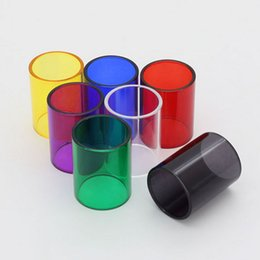 Wholesale One S Glass - Replacement pyrex glass tube for Limitless 24mm Limitless XL Plus 25mm Tornado Nano iJust one 2 iJust s iJust Nexgen 2ML 5ML DHL