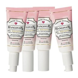 Wholesale Dhl Nail - TOO FACED Hangover Replenishing Face Primer Makeup Foundation Primer 40ML Proactive Nourishing With Retail Package Free DHL Shipping