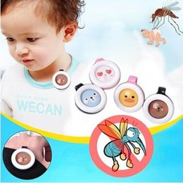 Wholesale Mosquito Repellent Wristbands - Cartoon Repellent Bracelet Fragrance Incense Repellents Buckle Adults Kids Summer Anti Mosquito Wristband Clip Pest Control CCA6191 1000pcs