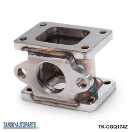 Wholesale Turbocharger Manifold - TANSKY -T25 to T25, T2 to T2 3 Stainless steel 304 Turbo Manifold Adapter +38MM Wastegate Flange Outle TK-CGQ174Z