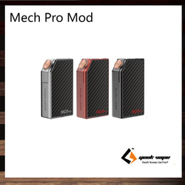 Wholesale Pro Circuit - GeekVape Mech Pro Mod Fire Button Lock Visible Circuit System Single Or Dual 18650 Cell Reverse Battery Protection 100% Original
