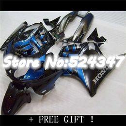 Wholesale 1996 Honda Cbr F3 Fairings - Blue black CBR600 F3 1995 1996 Fairing kit for CBR600F3 95-96 CBR 600 F3 95 96 fairings 100% ABS