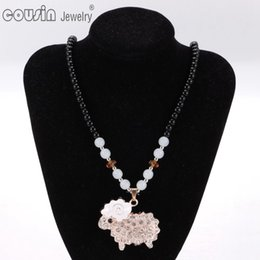 Wholesale Dress For Dogs Red - XL0041-45 New Arrivals 19pcs lot 19styles Bohemia Styles tree dog Pendent necklace for Woman Multi Styles Fit vintage Dress Jewelry