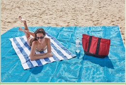 Wholesale Family Sheet - Sand Proof Blanket ,Waterproof Lightweight Outdoor Tent Tarp Footprint Ground Sheet Mat,Sand Free Beach Mat - Dirt & Dust Disappear ST010