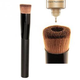 Wholesale Wood Tool Set - Wholesale- Multipurpose Liquid Foundation Brush Pro Powder Makeup Brushes Set Kabuki Brush Premium Face Make up Tool Beauty Cosmetics