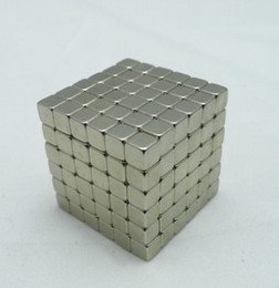 Wholesale Intellectual Toys - Buck ball 3mm216 square magic magnetic ball magic ball Intellectual development of the Christmas Halloween toy children's magic cube