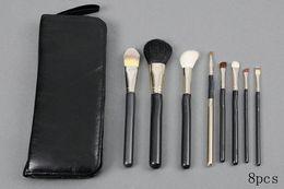Wholesale Best Quality Makeup Brushes - 2017 NEW good quality Lowest Best-Selling good sale Makeup Brush 8 pcs Set + Pouch Professional Brush