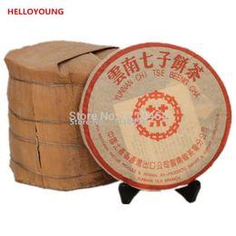 Wholesale ripe honey - Made in 1985 pu er tea 357g oldest puer tea ansestor antique honey sweet dull-red Puerh ripe tea ancient tree