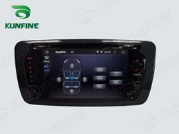 Wholesale Seat Ibiza Dvd Player - Octa Core 2GB RAM Android 6.0 Car DVD GPS Navigation Multimedia Player Car Stereo for Seat Ibiza 2013 Radio Headunit