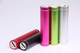 Wholesale Emergency Powerbank - bateria externa rechargeable treasure 2600 mah milliampere large capacity mobile powerbank General mobile phone emergency power banks
