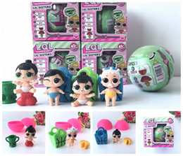 Wholesale Matching Girl Doll - 2017 Newest LOL SURPRISE DOLL Unpacking Dolls Dress Up Toys Lil Sisters Series 2 Girls Doll With Match Accessories
