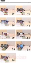 occhiali da sole eleganti per gli uomini Sconti 2017 Nuovo arrivo Elegante HOT Classici Retro Fashion Men Occhiali da sole rotondi donna all'aperto spiaggia guida in bicicletta Occhiali grande montatura Goggle