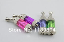 Wholesale Mvp E Cig - Wholesale- 30pcs Iclear 30 clearomizer dual coil ecig rotatable atomizer iclear30 vaporizer e cig can fit mvp 2.0 itaste DHL