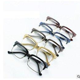 Wholesale Plain Eye Glasses For Men - Brand Design Eyewear Frames eye glasses frames for Women Men Male Eyeglasses Ladies Eyeglass Plain spectacle frame