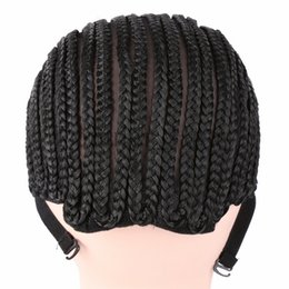 Wholesale Beauty Braids - Beauty Wig Caps For Making Wigs Cornrows Wig Cap With Adjustable Strap For Crochet Hair Net Wig For African Braiding Hairstyle