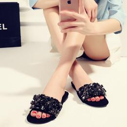 2019 квадратные носки 2017 новый бренд обувь твердые квадратный носок причинной женщины квартиры тапочки черный горный хрусталь сладкий милый опрятный стиль суперзвезда сандалии дешево квадратные носки